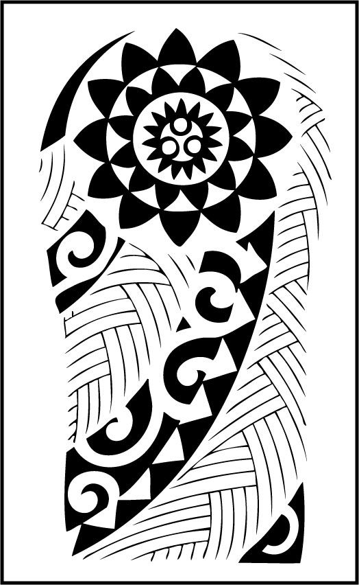Tribal Tattoo Website: Here's One Of My Handdrawn Tribal Tattoo Designs. Please