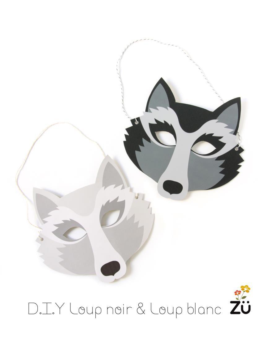 Diy By Z Surpriz Le Blog Paper Crazy Pinterest Wolf