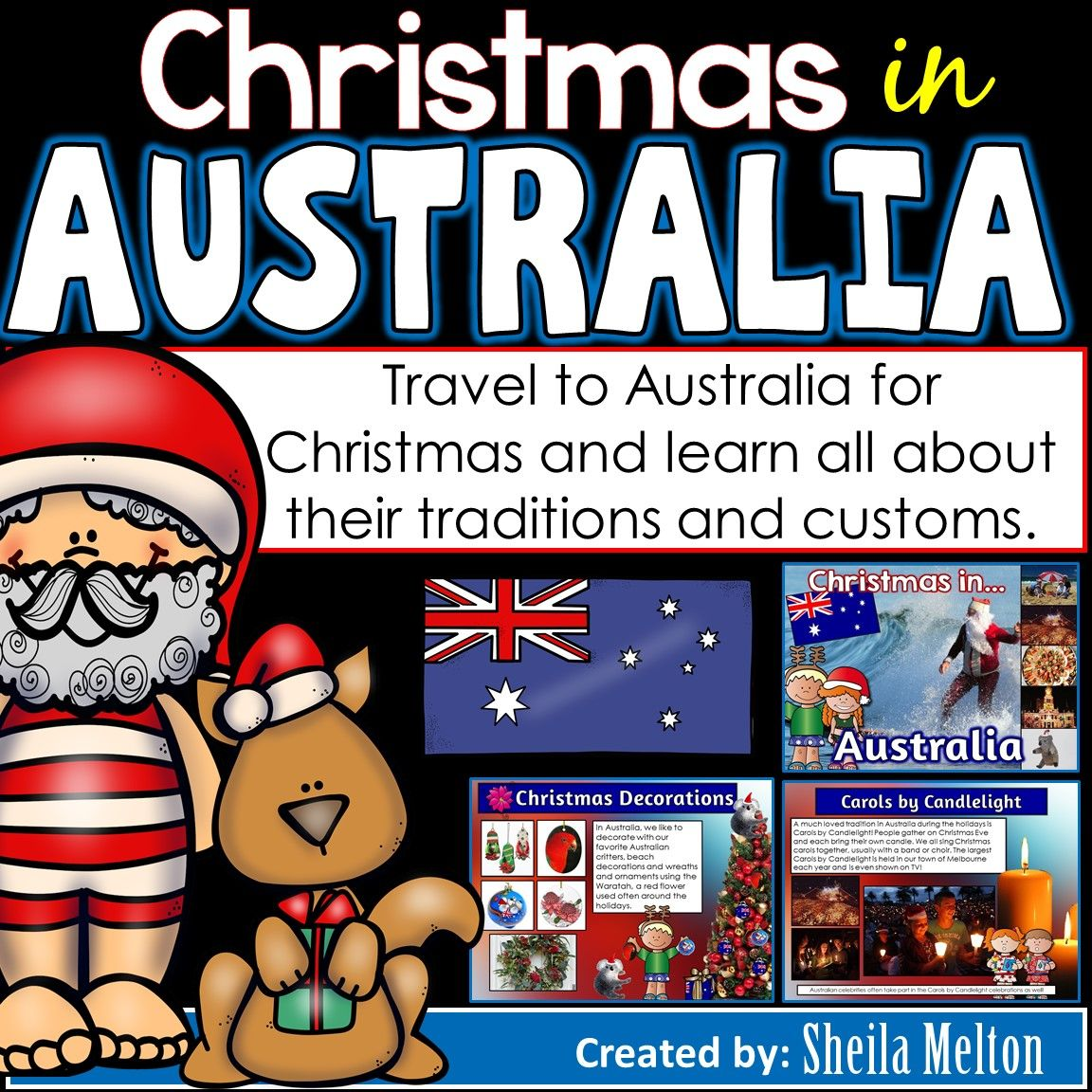 Christmas In Australia Powerpoint Christmas Around The