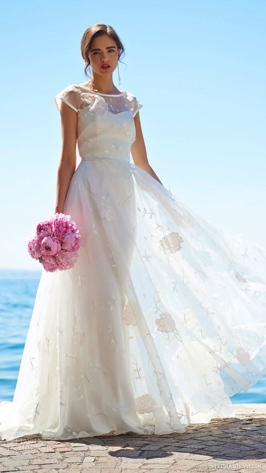 Stephanie allin wedding dresses u bellissimo bridal collection