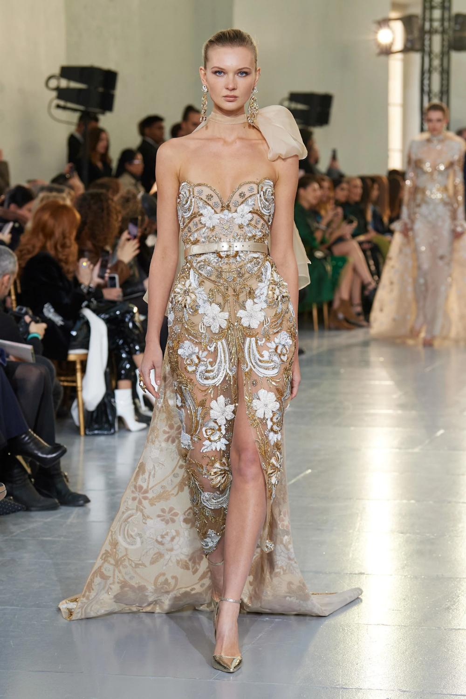 Elie Saab Spring 2020 Couture Collection Vogue Elie Saab Couture Couture Fashion Fashion Show