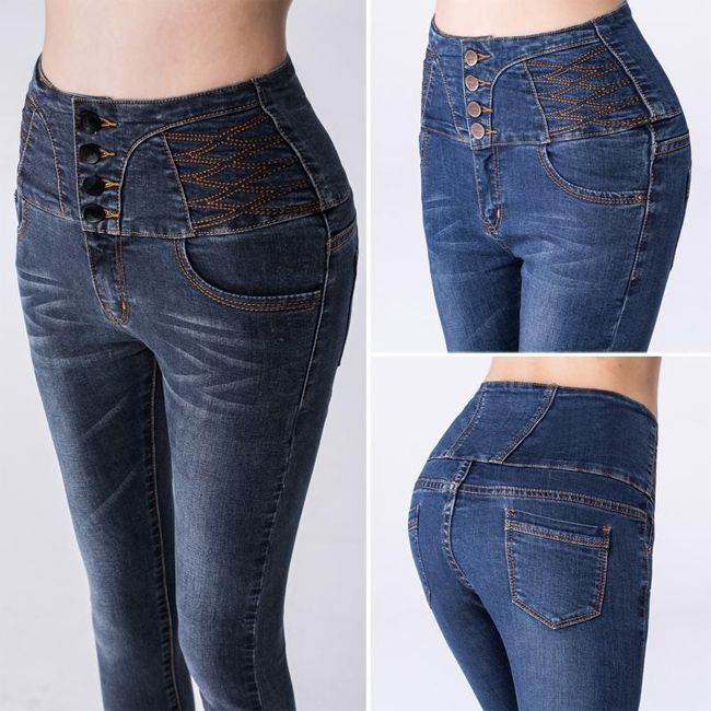 cool-ripped-designer-denim-high-waist-jeans | Fashion | Pinterest ...