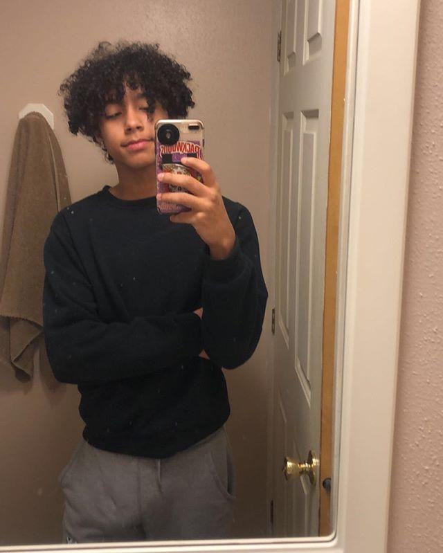 Hittin Cute Black Boys Boys With Curly Hair Light Skin Boys