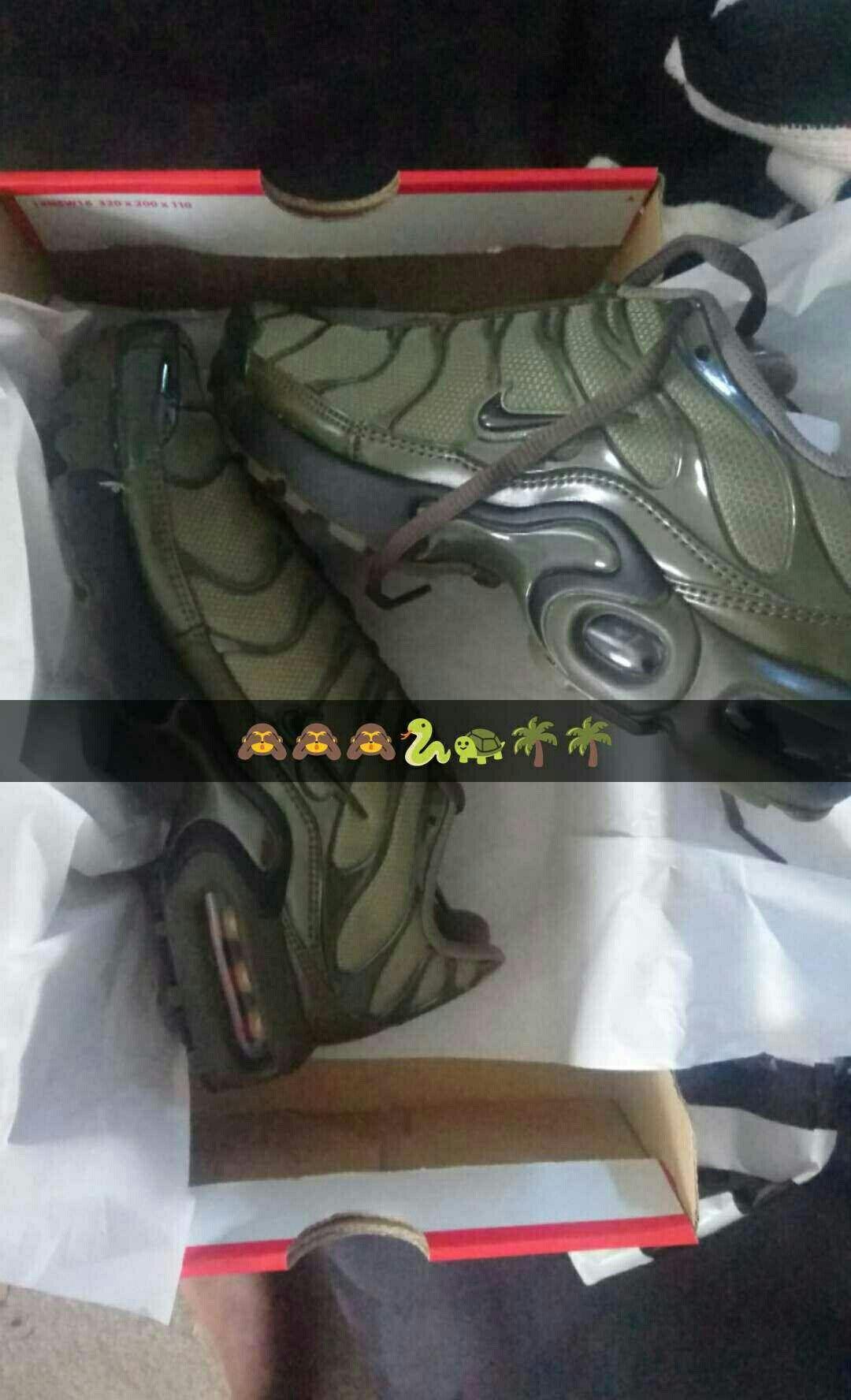 faf79d884d5 Khaki Nike Tns all mine