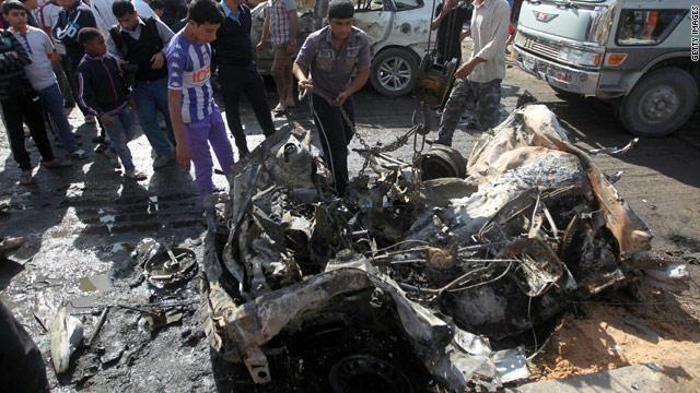قنبلة تقتل 14 من الشيعة بعد مقتل 20 شخصا في انفجارين مميتين فى بغداد http://democraticac.de/?p=6155 Bomb kills 14 Shiites after the killing of 20 people in the deadly blasts in Baghdad