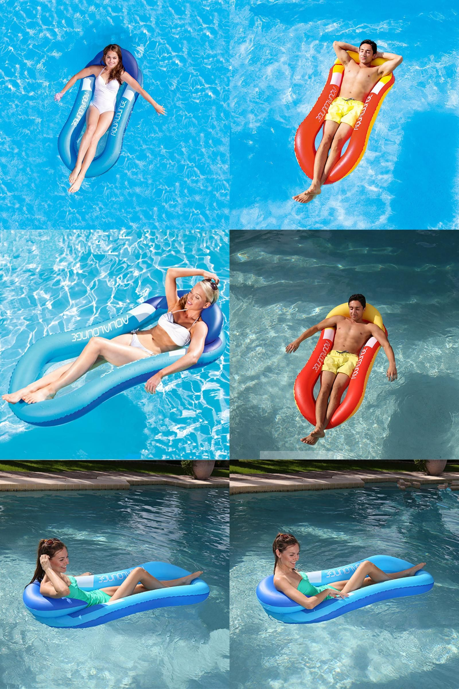 watch float swimming floating lounger kai hammock water youtube luxuries pool