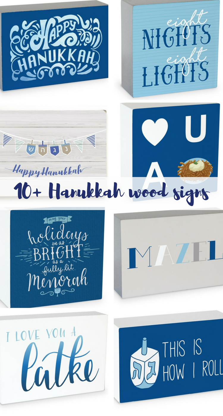 Love These Hanukkah Wood Signs And Boxes I M Ready To