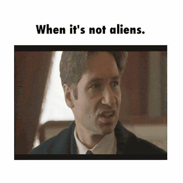 Mulder | When it's not aliens | The X Files