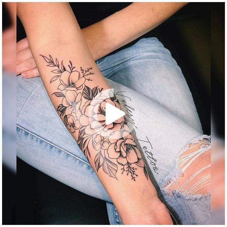 Flower Tattoo on Forearm Forearm tattooflower forearm