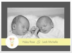 Twins Announcement Wording Ideas Birth Announcement Ideas - Baby announcement wording