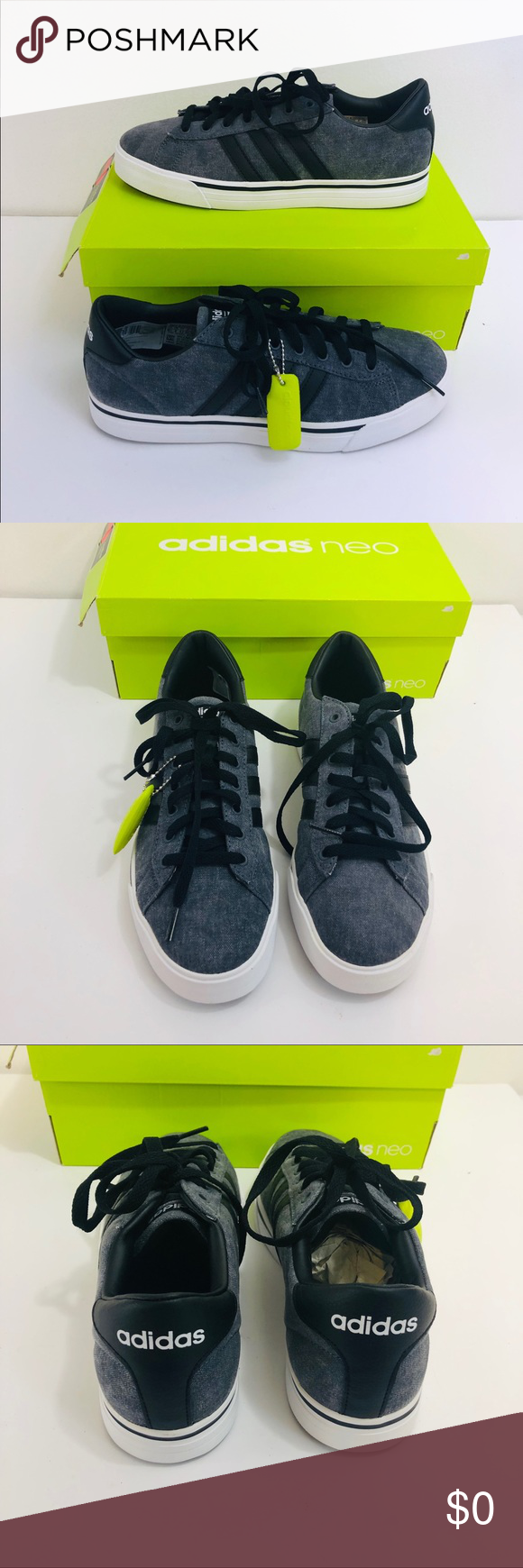 New in Box Adidas Cloudfoam Super Daily Sneaker. | Adidas ...