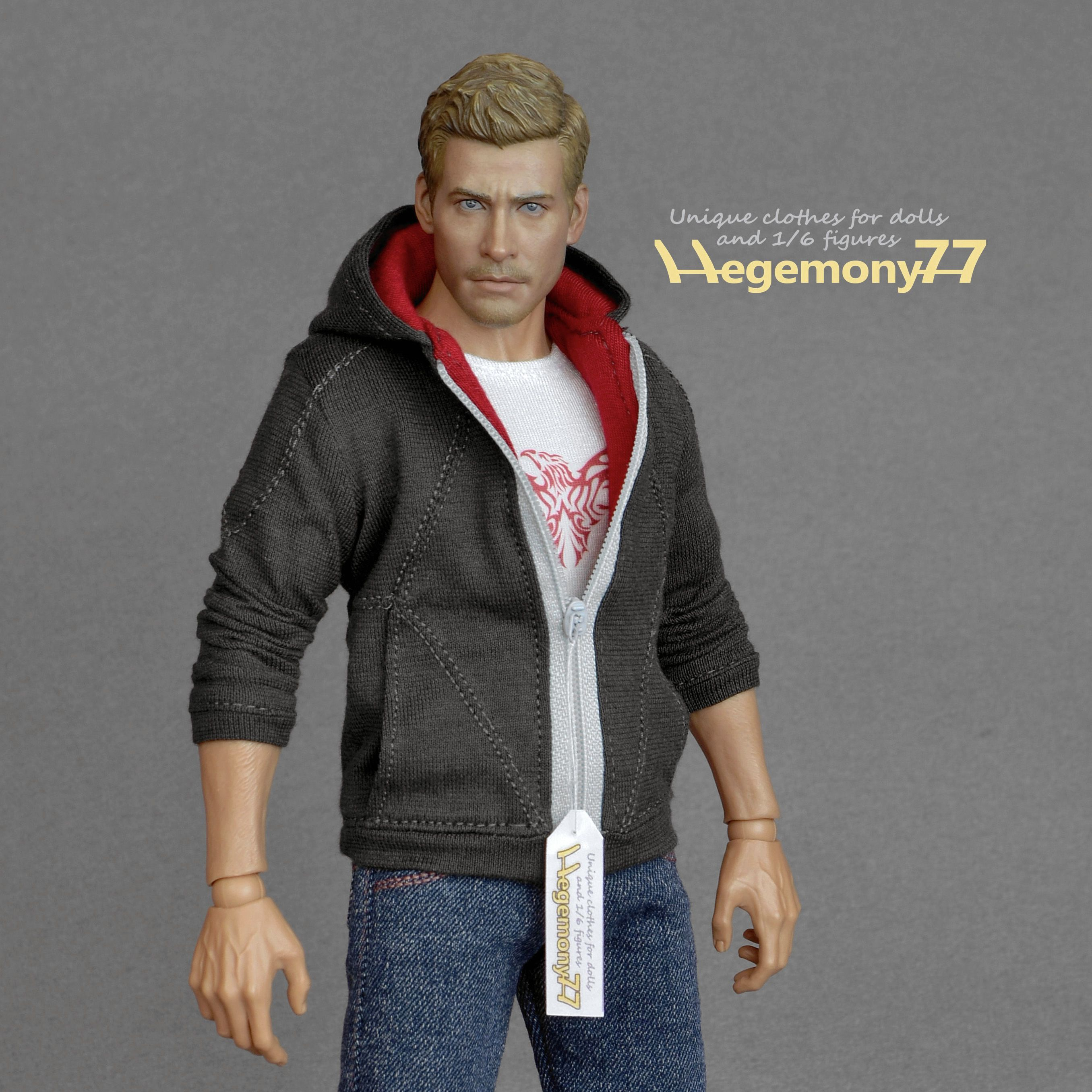 """1//6 Action Figure Clothes Sweater 1:6 Clothing 12/"""" Model Figure Accessory"""