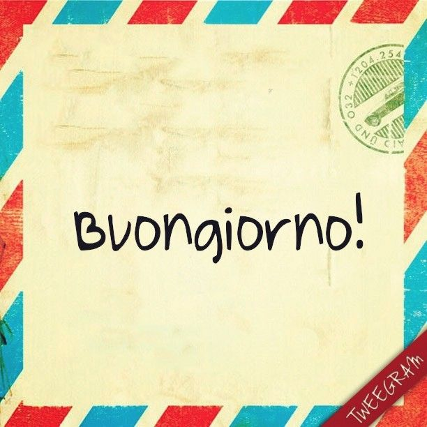 Tag Frases De Bom Dia Em Italiano