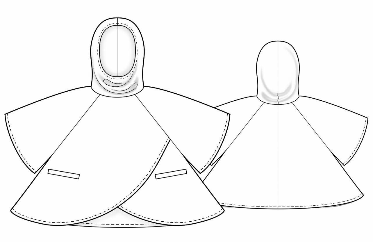 Poncho with hood sewing pattern 5798 made to measure sewing poncho with hood sewing pattern 5798 made to measure sewing pattern jeuxipadfo Choice Image