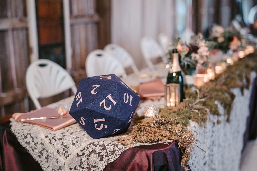 Fantasy & Nerdy Magical Enchanted Forest Wedding