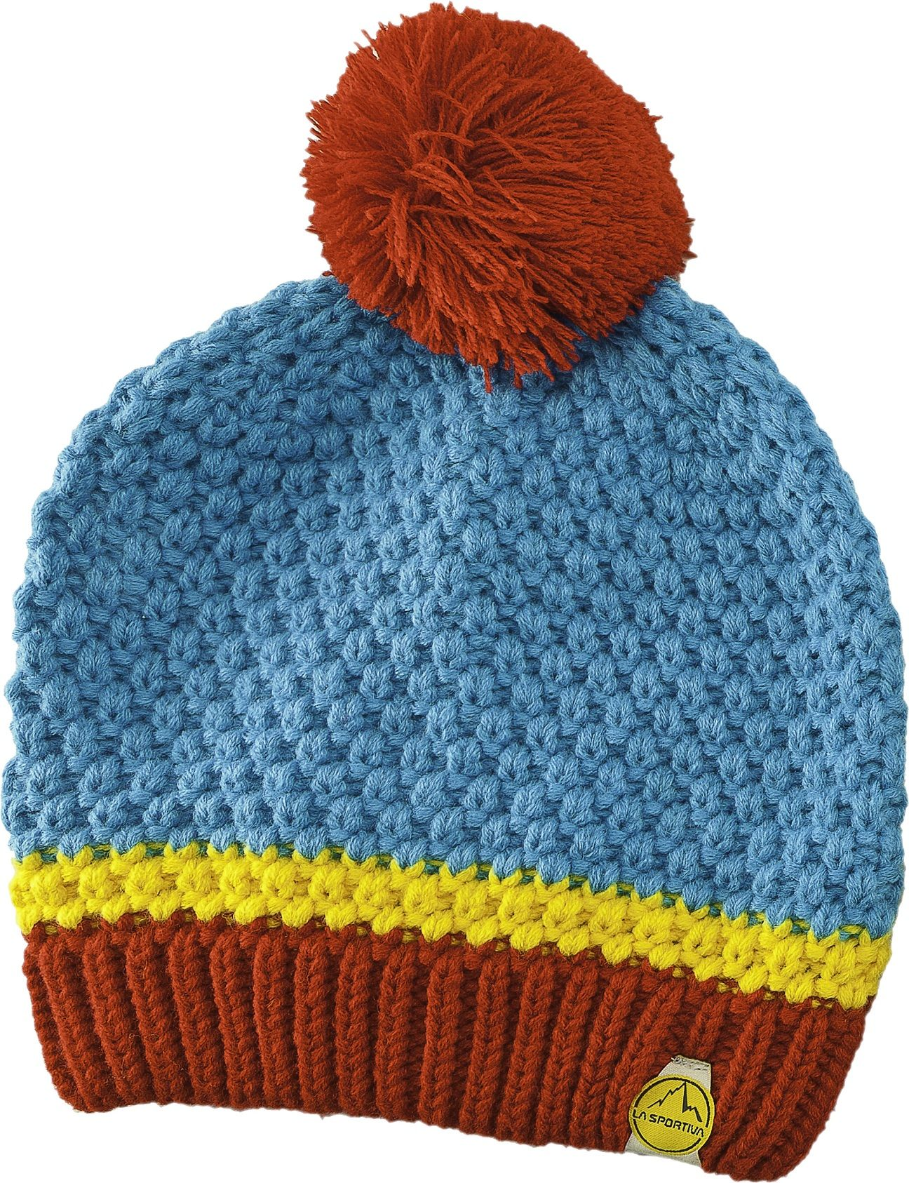 -- Muse Beanie -- Rough knitted hat with soft inner fleece lining. Excellent insulation on cold winter days. Thanks to the knit structure it breathes well during the activity and dries fast when damp. Feminine knit pattern.