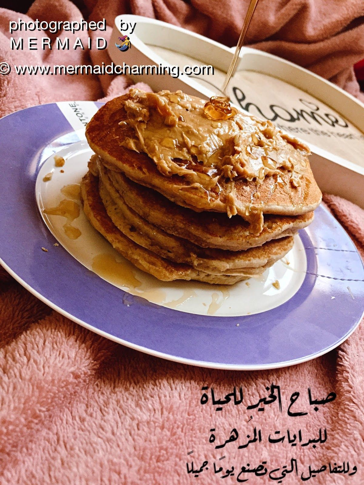 وصقة بان كيك صحى بالشوفان بطريقة سهلة و سريعهة و طعمها طيب و لذيذ Oat Pancake Healthy Breakfast Food Recipes Oat Pancakes