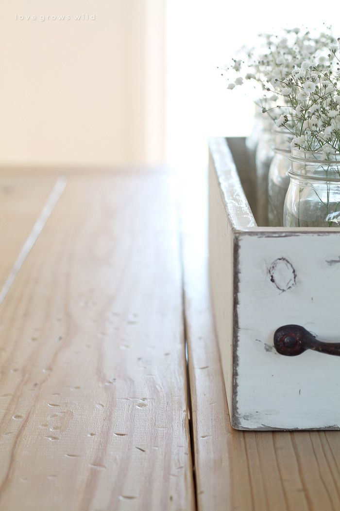 Room The Perfect Recipe For A Rustic Weathered Farmhouse Table Finish