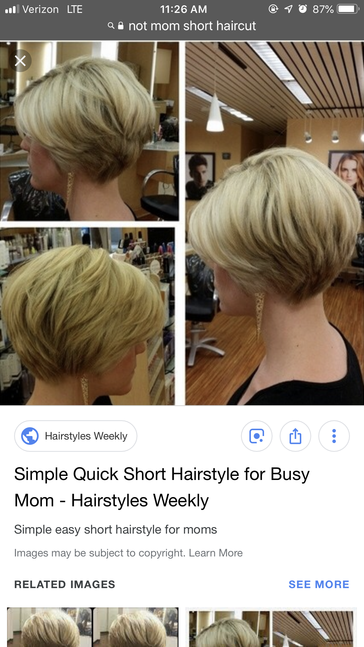 Pin By Cw Fitzgerald On Hair Busy Mom Hairstyles Short Hair Styles Mom Hairstyles