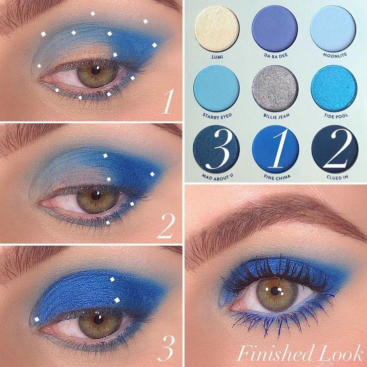 colourpopcosmetics Blue Moon LidschattenPalette 1Fine