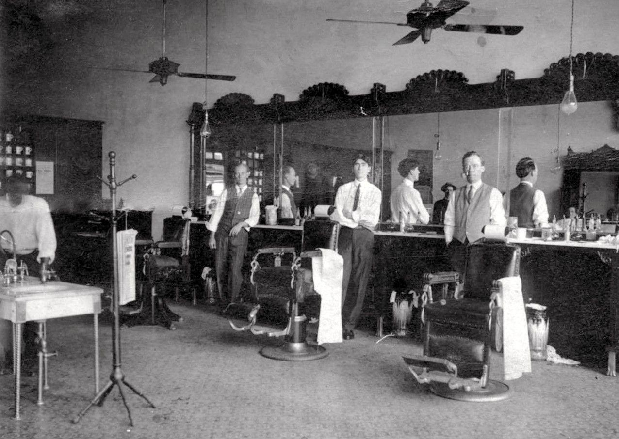 Man Cave Barbers Sydney : Old barber shop pictures thread barbershops janet