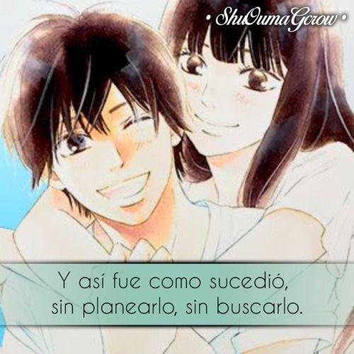 Anime Frases Anime Frases Sentimientos Shuoumagcrow Amor Frases De