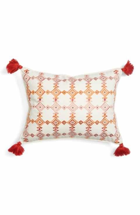 Levtex Piper Tassel Pillow Home Pinterest Pillows Tassels And Inspiration Decorative Tassel Pillows