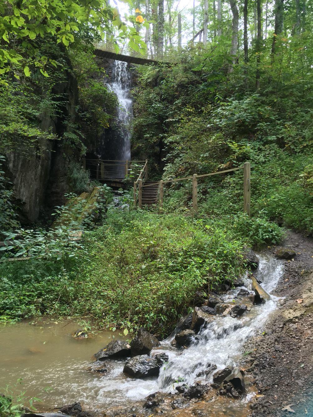 Waterfall was worth the walk