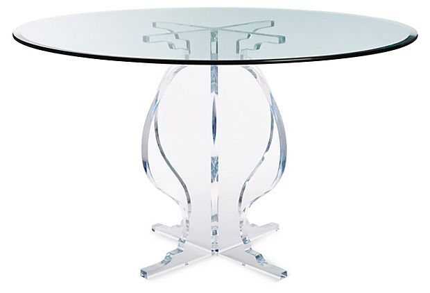 Sweeney Dining Table Dining Table Luxury Dining Tables Acrylic
