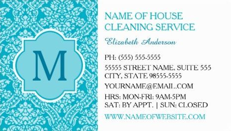 17 Best images about Girly Cleaning Services Business Cards on ...