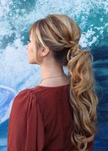 How To Glam Up Your Pony!! #hair #beauty #FXProm