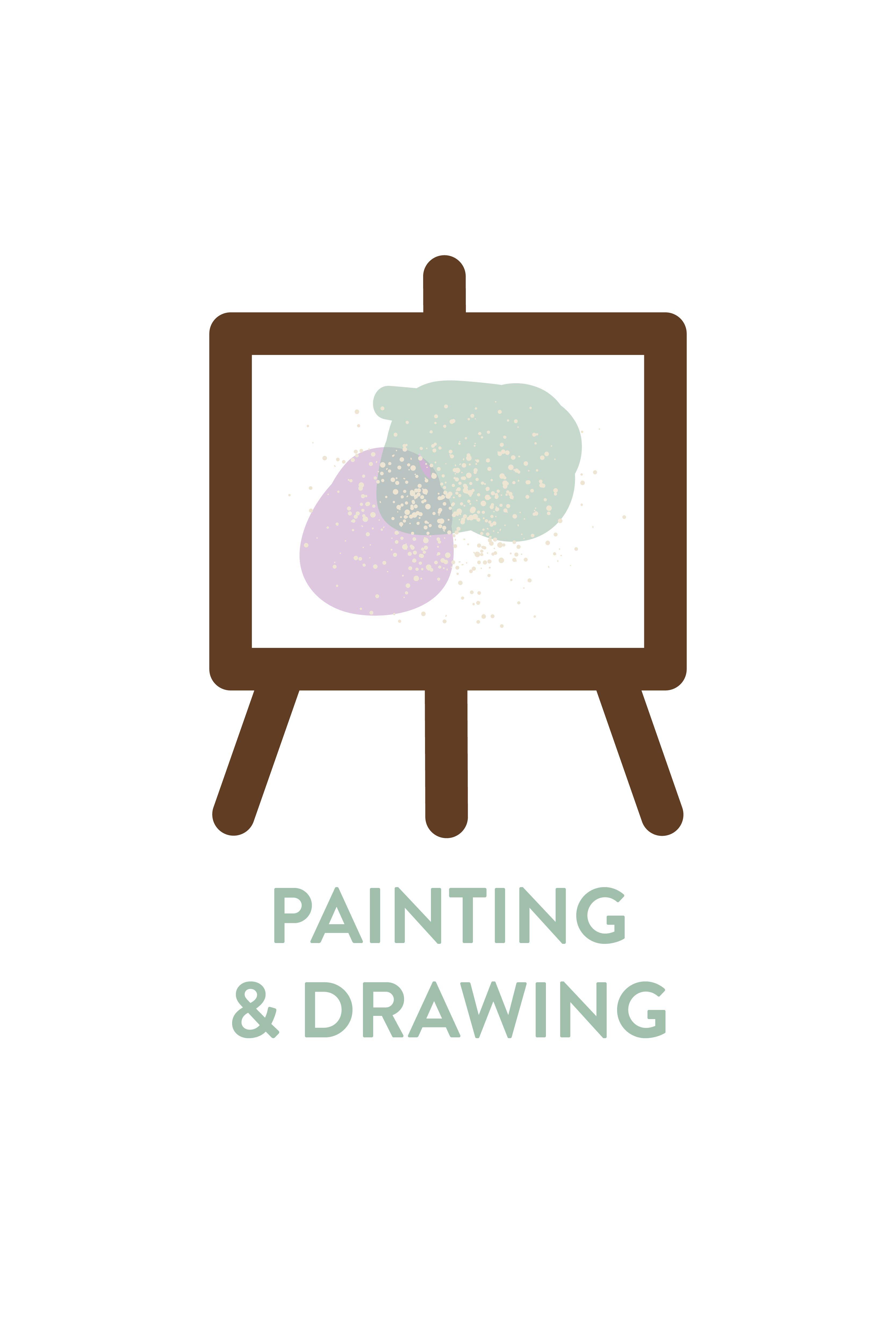 Painting & Drawing Icon | Resume Branding | Graphic Designer ...