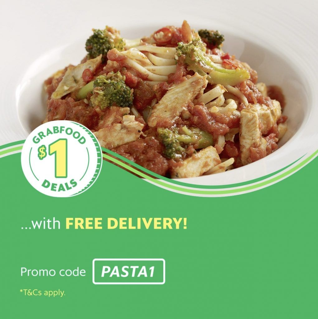 Grabfood Singapore Enjoy A Spicy Chicken Pasta With Pastamania For 1 Promotion 7 13 Jan 2019 Spicy Chicken Pasta Chicken Pasta Spicy Chicken