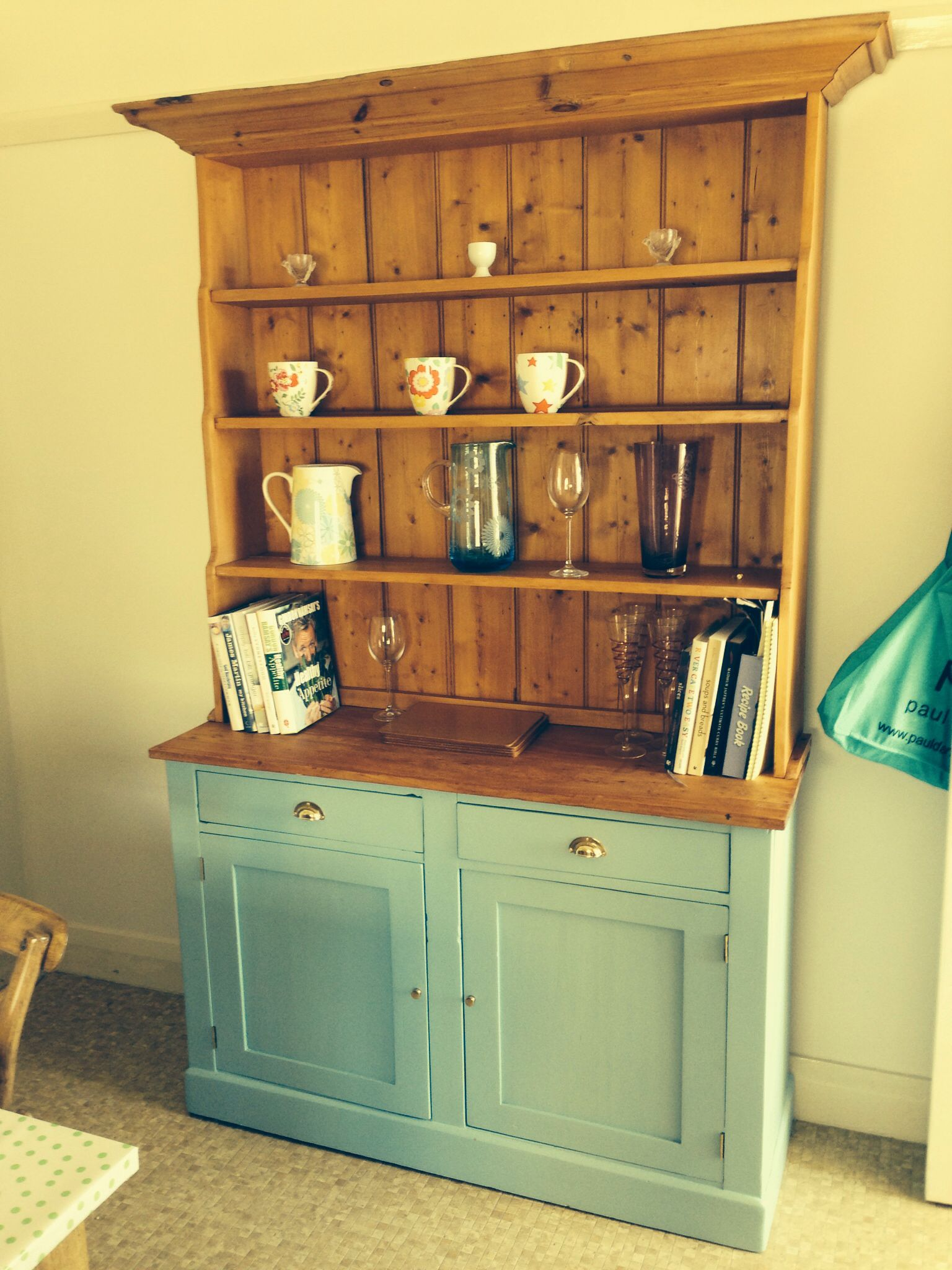 Finally finished! My new (old) kitchen dresser | Just the way life ...