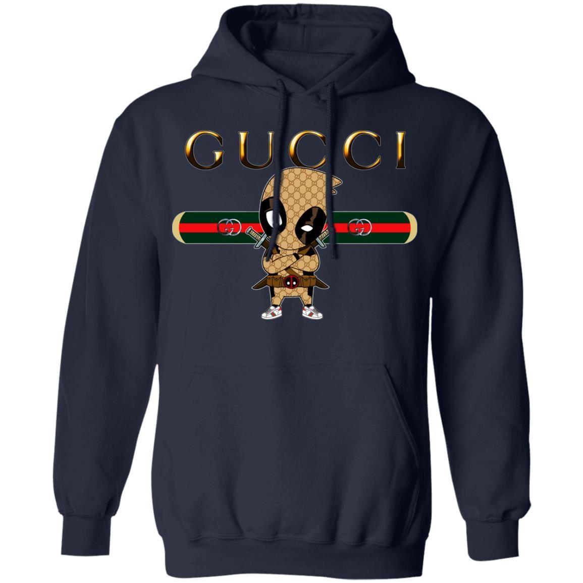 Deadpool Gucci Hoodie Ropa Gucci Para Hombre Marcas De Ropa Hombre Ropa Masculina