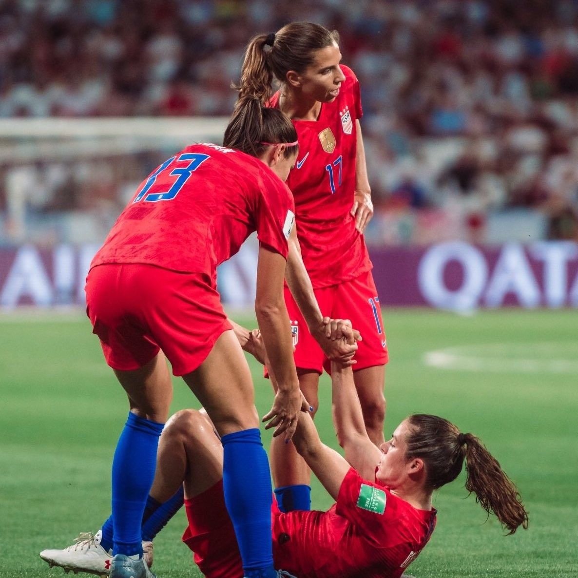 Pin By Dahy Garay On Uswnt In 2020 Women S Soccer Team Uswnt Uswnt Soccer