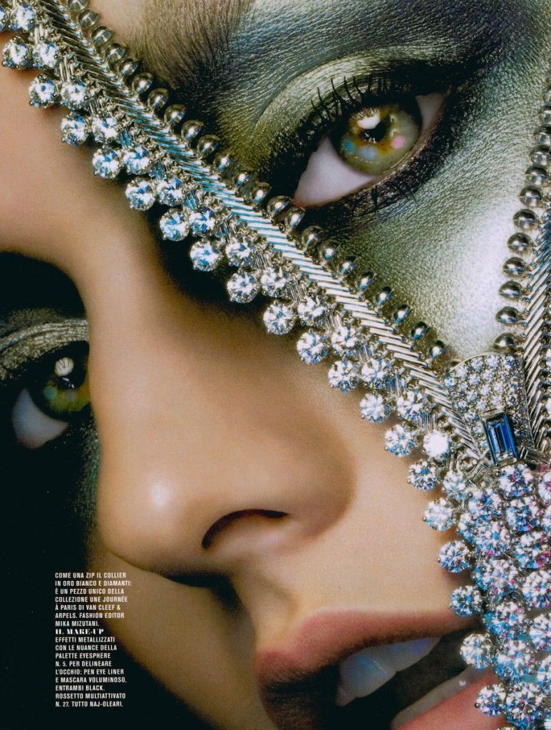 Photo of Jewelry editorial for Flair Magazine – photographed by Alix Malka – model: Lyd ….