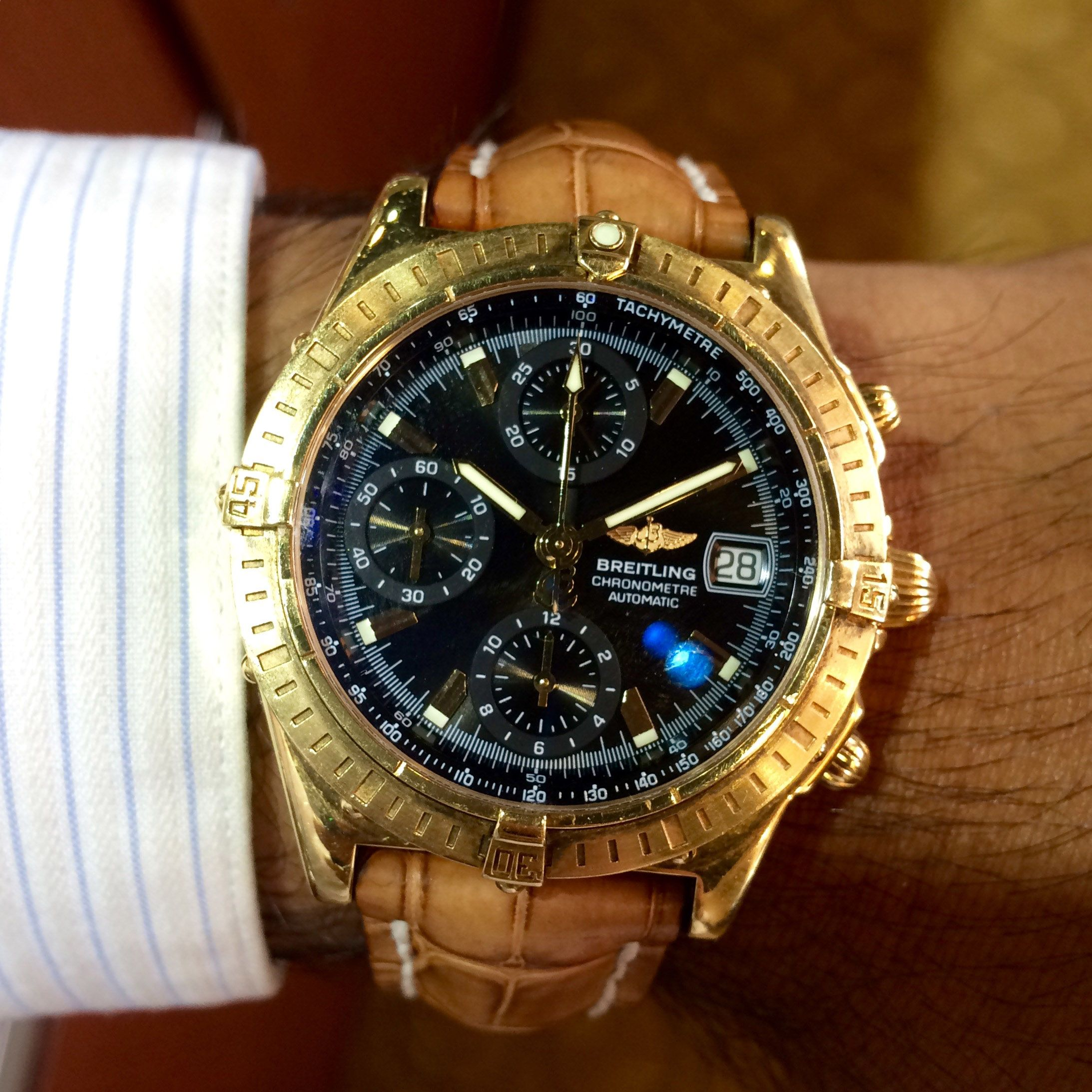 Home Breitling, Gold watch, Gold bentley