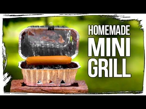 The Diy Steel Barrel Mini Charcoal Grill Awesome Full Instr You