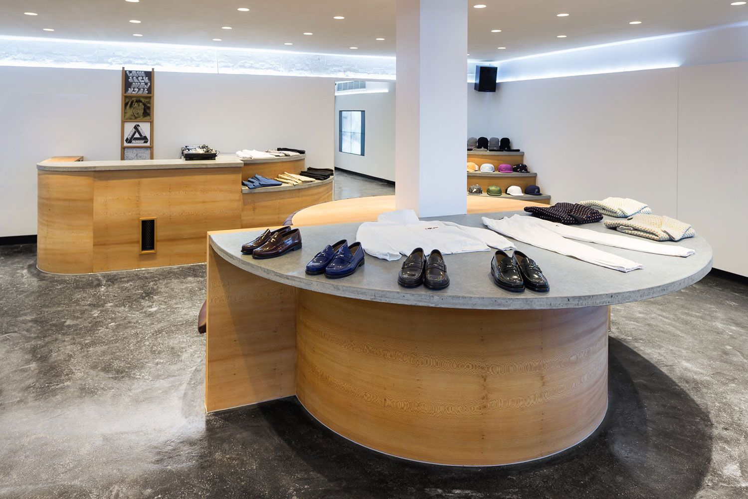 A Look Inside Palace Skateboards\' New London Flagship Store