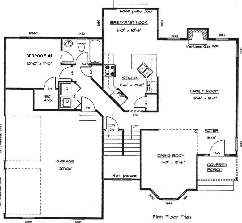 Free Floor Plans First Floor Plan Second Floor Plan Shop Building Plans Floor Plans House Floor Plans