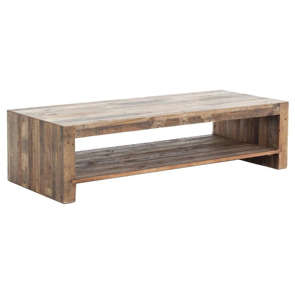 Angora Natural Reclaimed Wood Coffee Table 48 Modern Wood Coffee Table Coffee Table Wood Reclaimed Wood Coffee Table