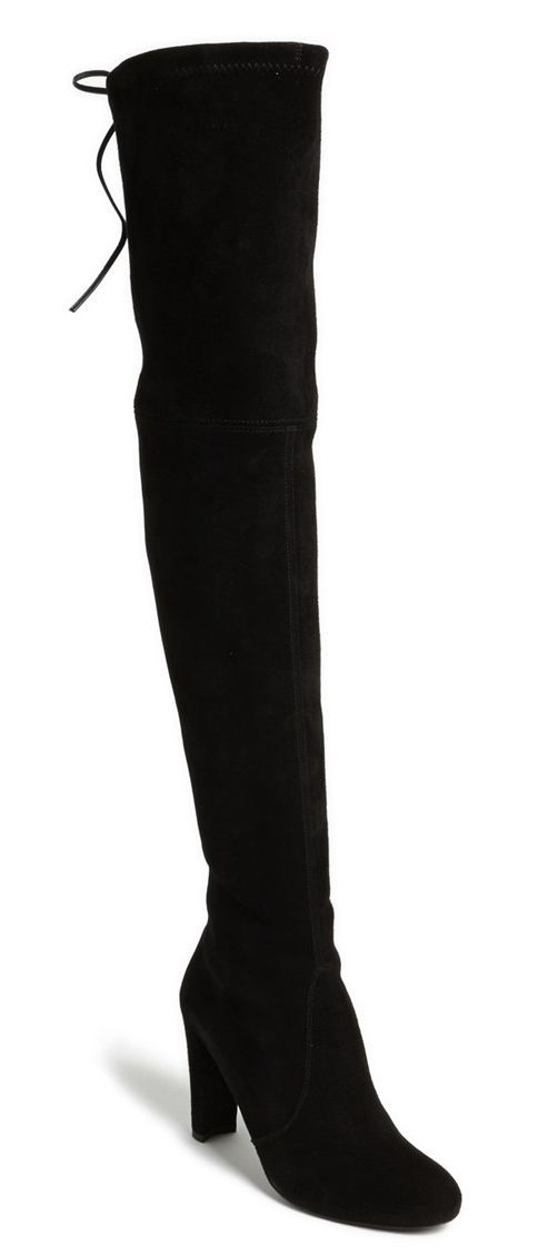 Stuart Weitzman Woman Thighland Suede Over-the-knee Boots Dark Size 34