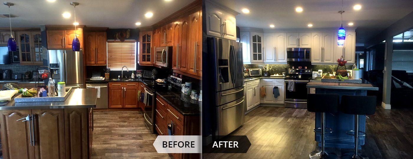 Kitchen Refinishing Image By Artistic Refinishing Inc On