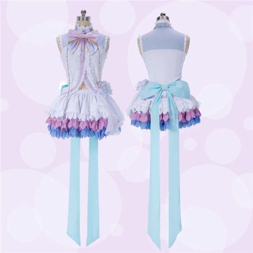 Love Live! Nico Yazawa Cosplay Costume Dress Bridesmaid Dresses White NEW