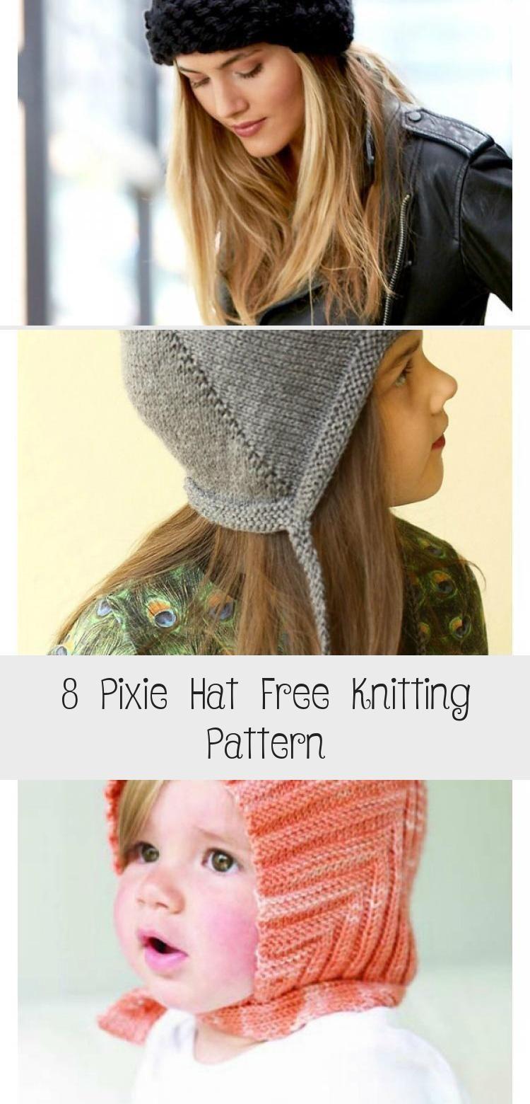Photo of Troll Pixie Hat Free Strickmuster #knittinghats #bonnetpattern #pixie #knitt …