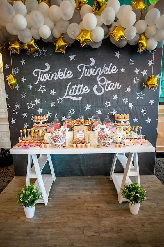 StarSailing Sweetheart Twinkle twinkle and Dessert table