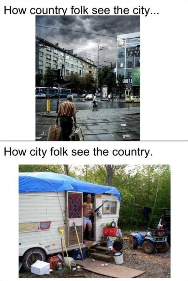 City Vs Country Www Meme Lol Com Funny Gifs Funny Funny
