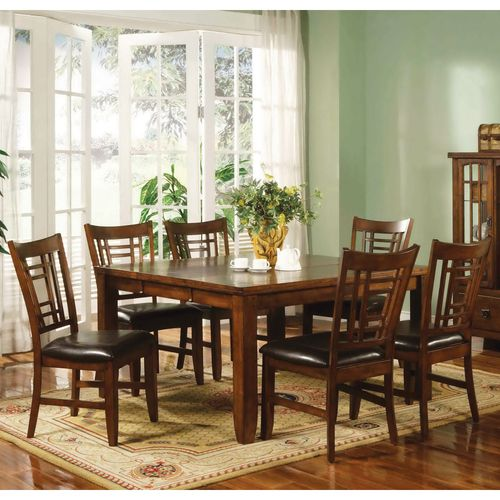 Outstanding Transitional Dining Room Suitable For Any Home: Eureka Square Dining Table & Chairs By Lifestyle
