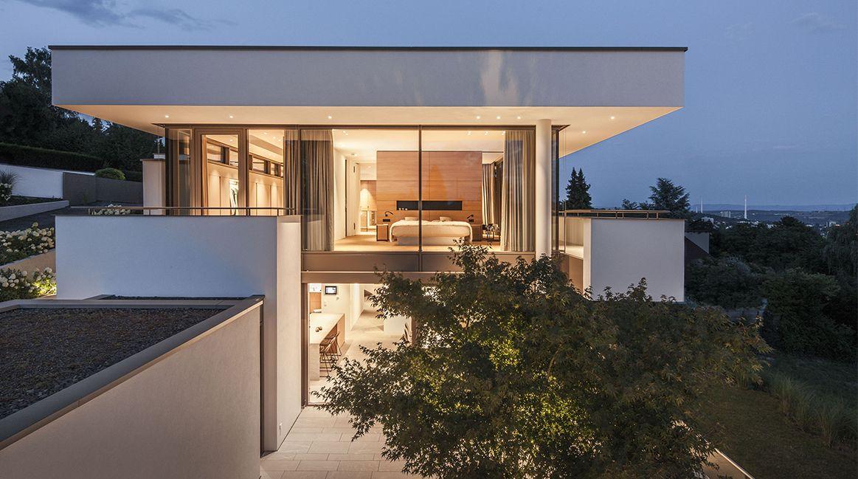 House fmb by fuchs wacker architekten hausbau architectuur